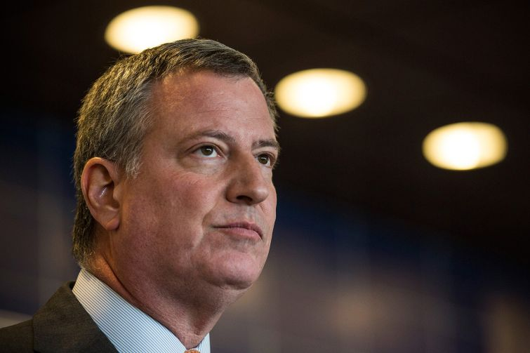 Mayor Bill de Blasio revealed plans today for a long-awaited commission on property tax reform.