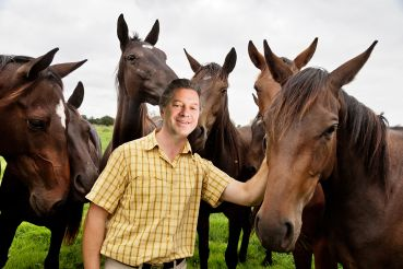 Marc Holliday of SL Green Realty Corp. said he'd be a horse trainer full time if he wasn't in real estate.