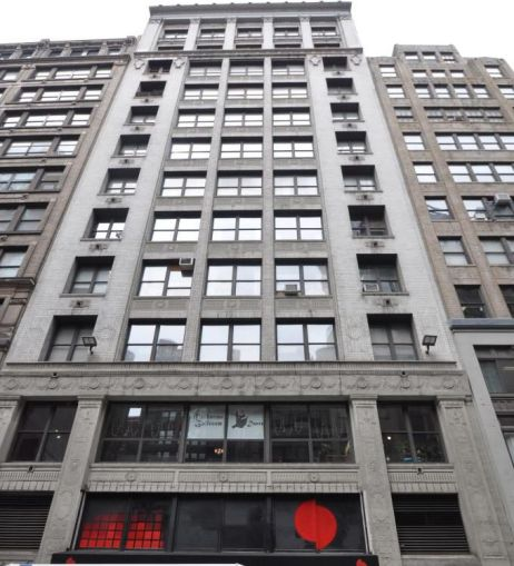 29 West 36th Street.