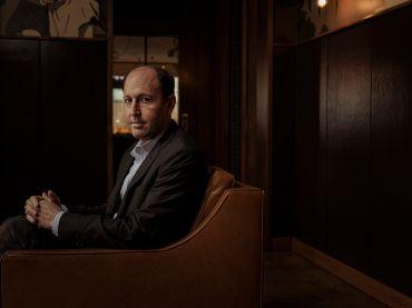 Bill Brodsky in his Smyth hotel in Tribeca. Photo: Sasha Maslov