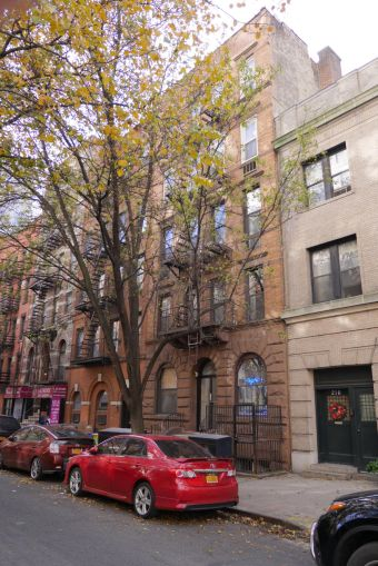 218 and 223 East 74th Street.