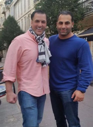 Ravi Idnani, now of RKF, worked on the team of James Famularo of Eastern Consolidated, left.