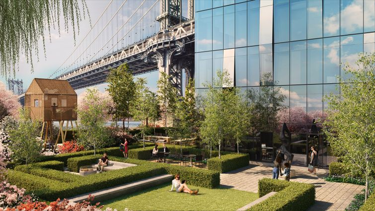 EXTELL-ERATING: Gary Barnett's Extell Development Company is bringing $1 million to $3 million condominium units to Two Bridges with his One Manhattan Square development.