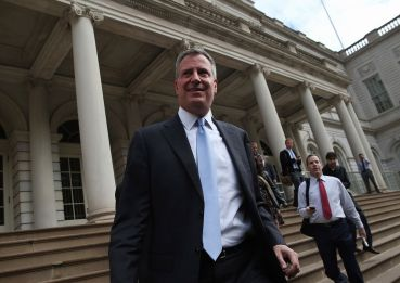 Mayor Bill De Blasio. Courtesy: Getty Images