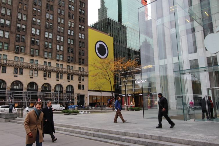 Snapchat at 5 East 59th Street.