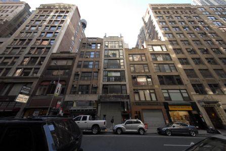36 West 38th Street before demolition. Photo: PropertyShark