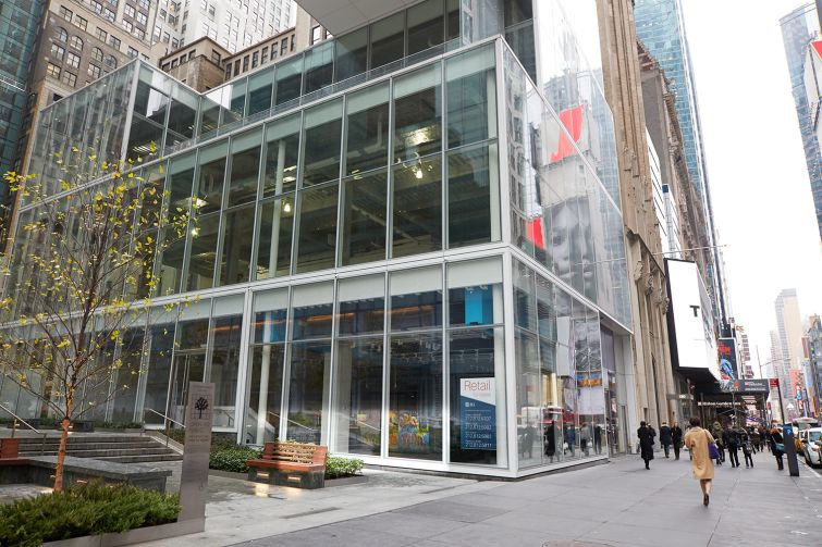 The 5,300-square-foot space is part of the retail offering of the 1.3-million-square-foot building. Photo: Yvonne Albinowski/For Commercial Observer.