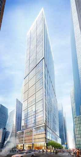50 Hudson Yards. Rendering courtesy: Related Companies and Oxford Properties Group