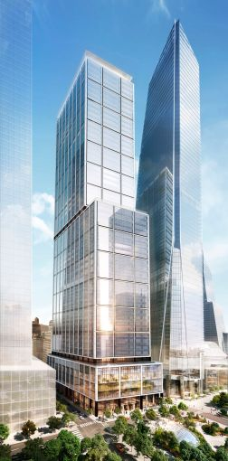Norman Foster is designing 50 Hudson Yards, which will be the development's largest office tower.