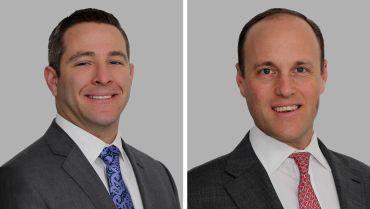 Justin Halpern, left, and Ed Wartels.