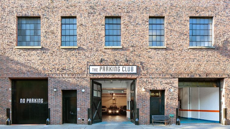 KEEP IT IN PARK: The new Parking Club in Brooklyn