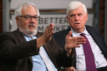 Barney Frank and Chris Dodd. Photo Credit: Chip Somodevilla/Getty Images