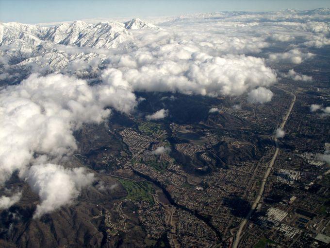 The Inland Empire in California.