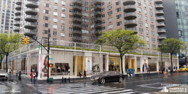 Artist's rendering of 184 East 86th Street. Image: Cushman & Wakefield marketing materials