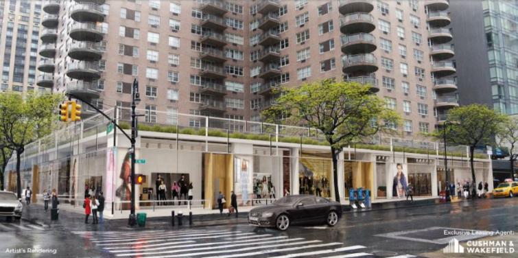 Artist's rendering of 184 East 86th Street. Image: Cushman & Wakefield marketing materials
