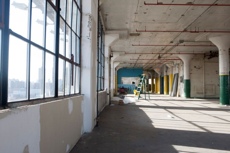 A before picture of a space in the building. Photo: Savanna.