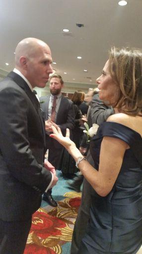 Scott Rechler and Leslie Himmel. Photo: Lauren Elkies Schram