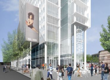 300 Ashland in Brooklyn. Rendering: Two Trees Management Company