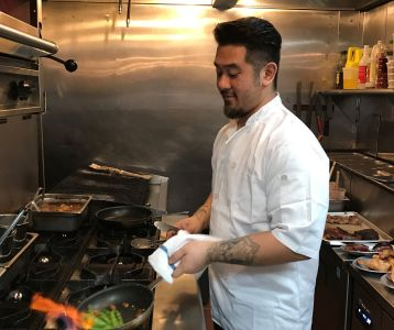 Armando Litiaco a partner of Filipino barbecue restaurant f.o.b. Photo: Ahmet Kiranbay for Commercial Observer.