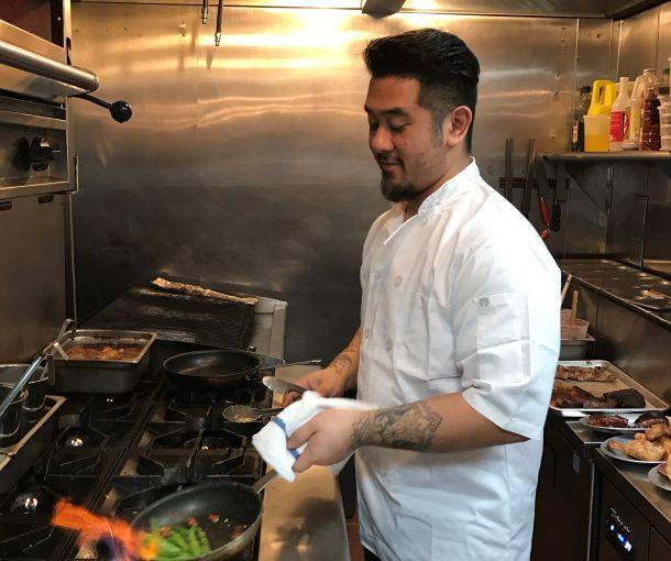 Armando Litiaco a partner of Filipino barbecue restaurant f.o.b. Photo: Ahmet Kiranbay for Commercial Observer.
