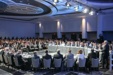 The Industry Leaders Roundtable. Courtesy: CREFC