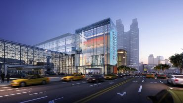 The planned Javits Center addition.