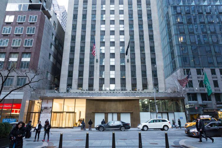 75 Rockefeller Plaza.