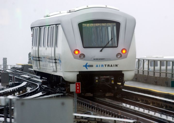 The AirTrain at John F. Kennedy International Airport. Photo by Ramin Talaie/Corbis via Getty Images