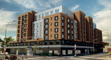 A rendering of 178-02 Hillside Avenue. Rendering: Eastern Consolidated