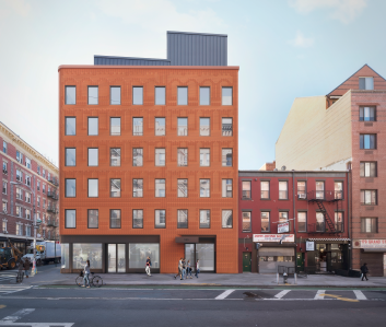 What's to come at 185-189 Grand Street. Rendering: Oved Group
