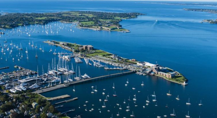 Gurney's Newport Resort & Marina. Courtesy: Eastern Consolidated.