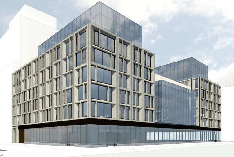 A rendering of 615 10th  Avenue.