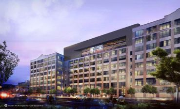 Rendering of Building 19 at Industry City. Image: Industry City