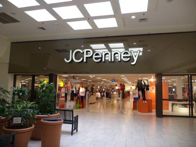Malls that rely on department stores like J.C. Penney—which is closing dozens of stores—are struggling. Credit: Getty Images.
