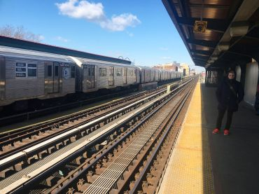 J' IS FOR JUST LOOKING: The L line will be out; the J, M and Z lines are the future! Photo: Emily Assiran/ Commercial Observer