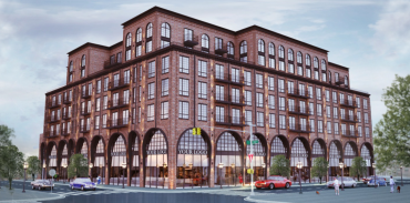 A rendering of 187 Kent Avenue. Rendering: CW Realty Management
