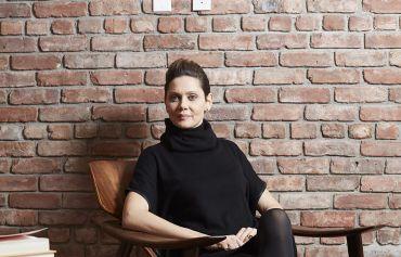 Veronica Mainetti inside of 60 White Street. Yvonne Albinowski/For Commercial Observer