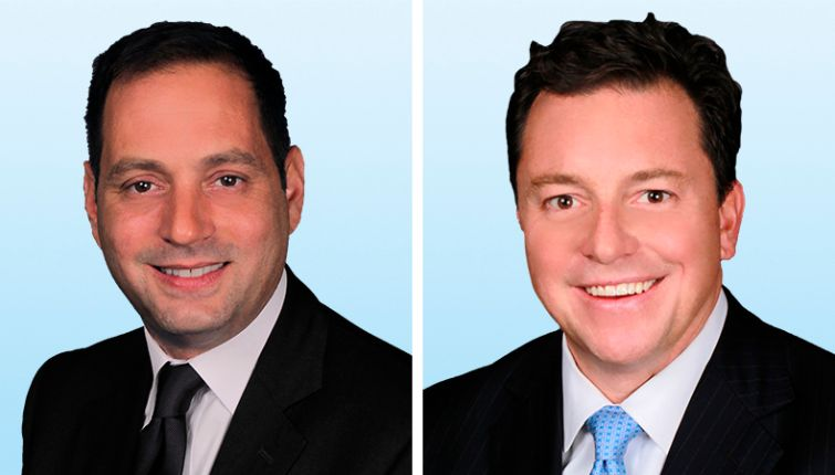 David Tricarico, left, and Michael Stone have joined Colliers International.