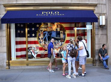 The Polo flagship at 711 Fifth Avenue. Photo: Robert Alexander/ for Getty Images