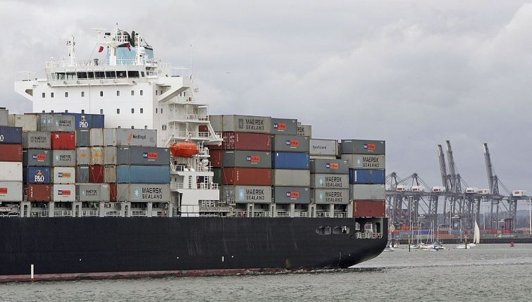 A typical container ship. Photo: Getty Images