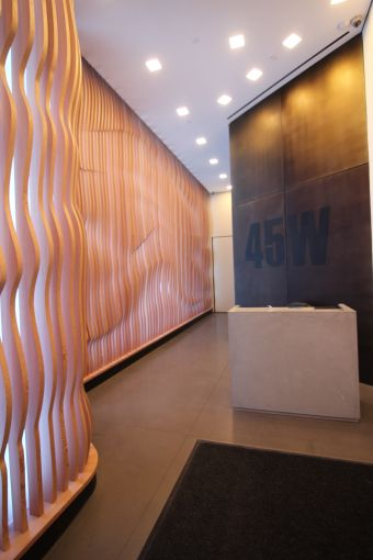 The lobby of 45 West 27th Street. Photo: CoStar Group.