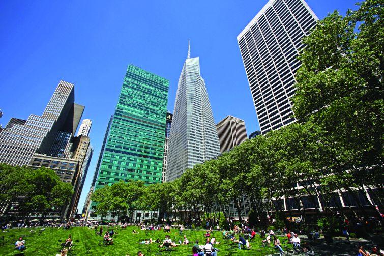 One Bryant Park. Photo: Richard Berenholtz, for Durst Organization