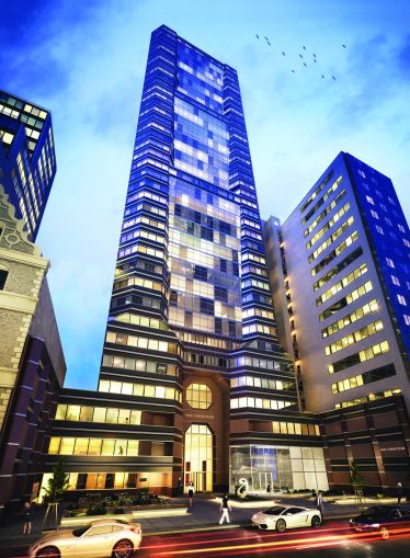 Park Avenue Tower at 65 East 55th Street.