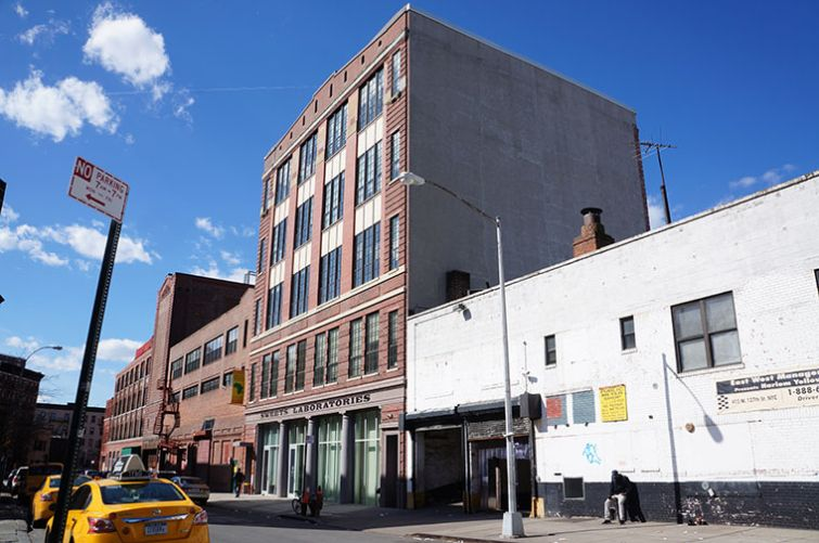 The Sweets Building at 423 West 127th Street. Photo: Rebecca Baird-Remba/For Commercial Observer