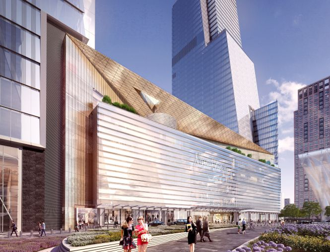 Brooks Brothers will open next month on the ground floor of the Shops & Restaurants at Hudson Yards.