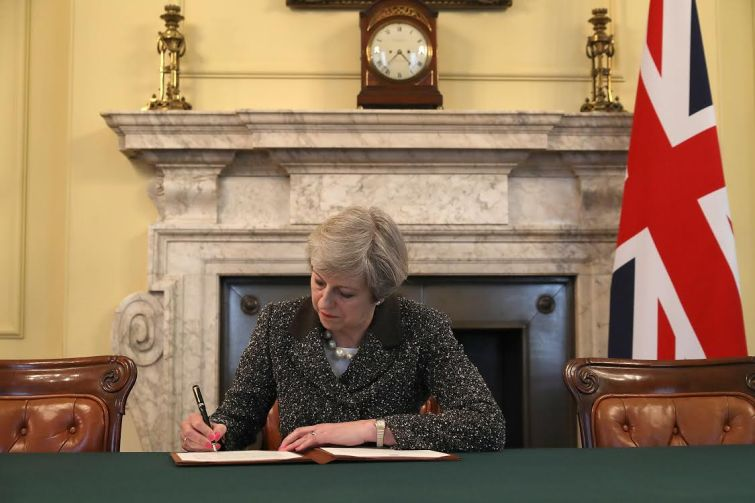 Theresa May. Photo: Getty Images
