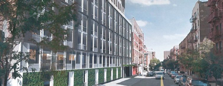 A rendering of 432 East 14th Street. Rendering: Noble Construction Group