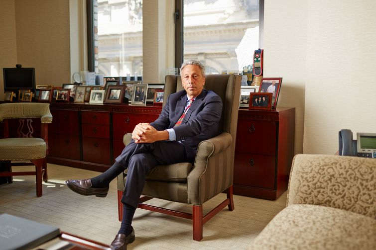 Barry Gosin, CEO of Newmark. Photo: Yvonne Albinowski for Observer