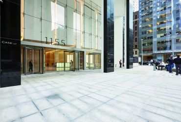 1155 Avenue of the Americas. Photo: Jeremy Frechette/ for Durst Organization