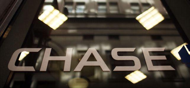 Chase logo. Photo: Spencer Platt/Getty Images
